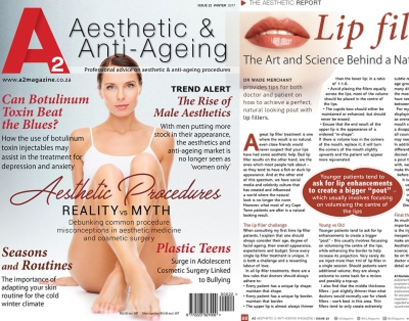 A2 Magazine - Lip Fillers (The Art and Science Behind a Natural Result)